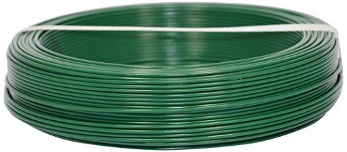Corderie Italiane 002014102 Filo Ferro Plastica, Verde, 3.2 mm, 100 m