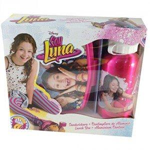 Soy Luna - Set botella metal + fiambrera (KIDS WD18022)