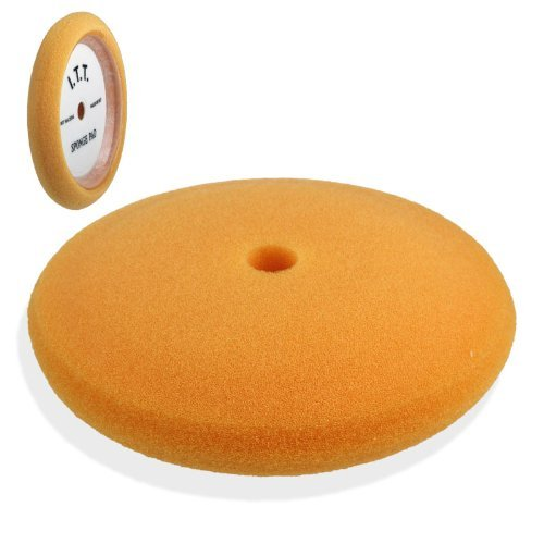 "Premium 7"" Foam Polishing Buffing Pad - Large 8"" Diameter - Medium Scratch Removal front-202870"