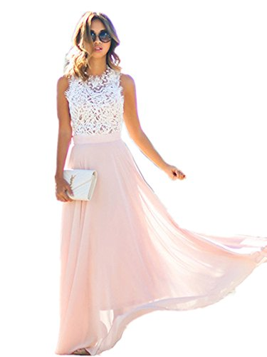 Doreen-Womens-Vintage-Chiffon-Party-Formal-Prom-Long-Evening-Gown-Wedding-Dress