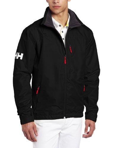 Helly Hansen Crew Midlayer Jacket Giacca sportiva Uomo - Nero (Nero (990)) - L