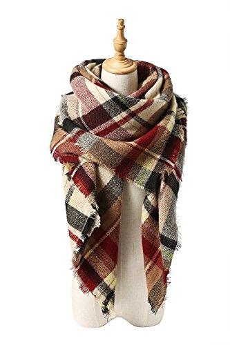VIISHOW-Stylish-Warm-Decke-Schal-Wunderschne-Wrap-Schal