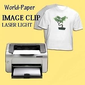 Rare image with laser printable heat transfer vinyl