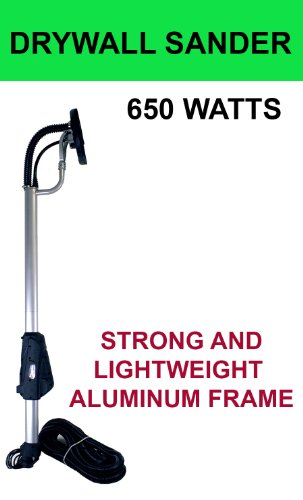 New 650 Watts Commercial Electric Variable Speed Drywall Sander Free Sanding Pad