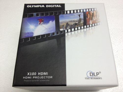 Olympia Digital Mini Hdmi Projector (X100 Hdmi)
