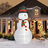 CHRISTMAS DECORATION LAWN YARD INFLATABLE AIRBLOWN SNOWMAN 12' TALL