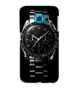 Cool Wrist watch 3D Hard Polycarbonate Designer Back Case Cover for Samsung Galaxy S6 :: Samsung Galaxy S6 G920