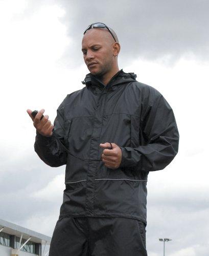 Mens Result Waterproof Coach Jacket Medium Forest Green