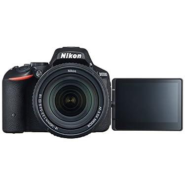 Nikon デジタル一眼レフカメラ D5500 18-140 VR レンズキット ブラック 2416万画素 3.2型液晶 タッチパネル D5500LK18-140BK
