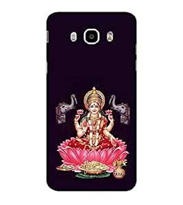 ifasho Lord Laxmi Back Case Cover for Samsung Galaxy On8