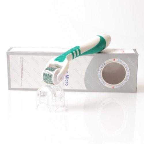 Brightdeal Led Green Light Micro Needles Roller Titanium 540 Needles Roller For Skin Care 0.2Mm