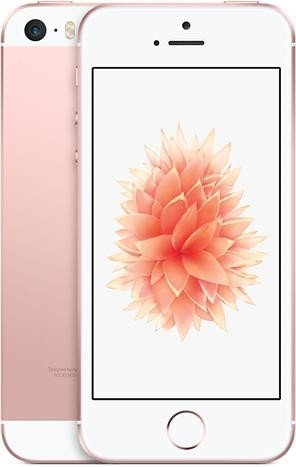 Apple iPhone SE Smartphone (4 Zoll (10,2 cm) Touch-Display, 64 GB Speicher, IOS) roségold