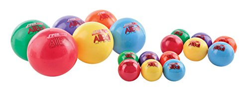 Sportime Multi-Purpose Inflatable All-Balls - 6 inch - Yellow