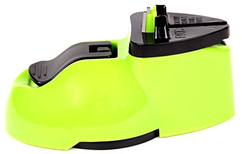 Wisewife A01 Due-use Chef's Choice Knife Sharpener,2 Stage Sharpening System,Patented,Green (Magic Chef Knife compare prices)
