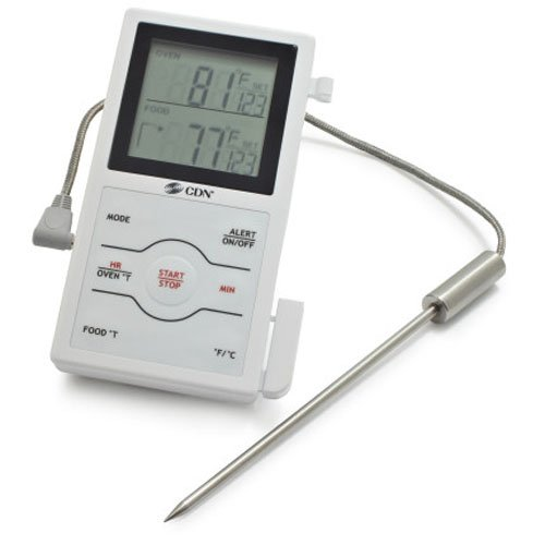 CDN DSP1 Dual Sensing Probe Thermometer and Timer
