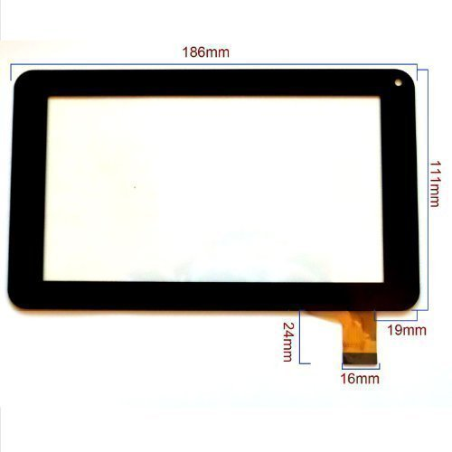 17,78 cm Touch sostituzione dello schermo digitalizzatore per MAJESTIC TAB-172 TAB-173 Android 4,2,2 Tablet