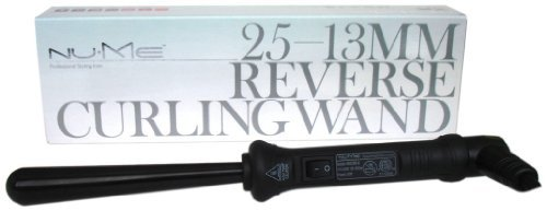 NuMe Reverse 25-13 Mm Wand Curling Iron (1