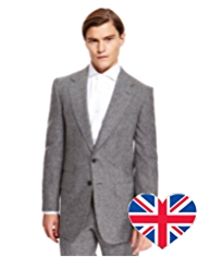 Best of British Pure Wool 2 Button Jacket