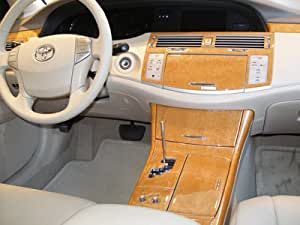 toyota avalon interior burl wood dash trim kit set 2005 2006 2007 2008 2009 2010. Black Bedroom Furniture Sets. Home Design Ideas