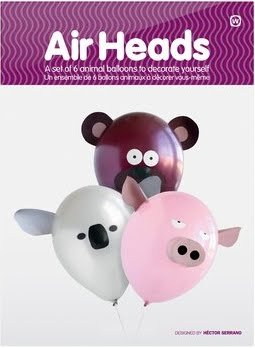 Air Heads Animal Party Balloons