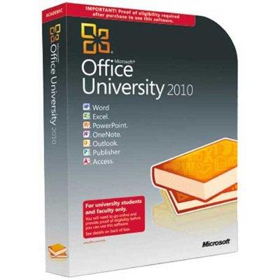 Microsoft Office University 2010 with SP1 32-bit