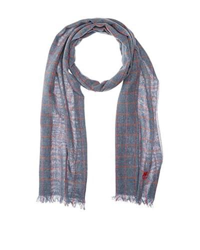 Timberland Schal Check blau/rot