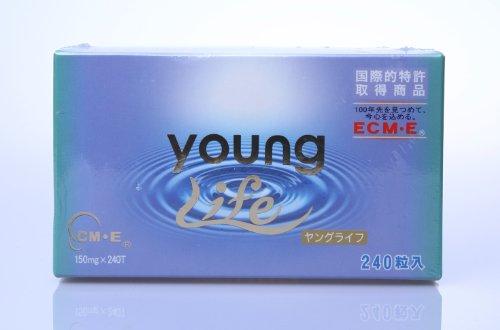 健康食品 サプリメントのヤングライフ 元祖食べるヒアルロン酸ECM・E+バンブーノイド
