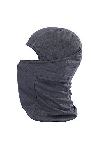 Fontic Multi Function Windproof Comfortable Face Mask Sports Balaclava/Motorcycle Neck Warmer ULTIMATE PROTECTION from COLD WIND DUST and SUN's UV Rays (Gray) (Face Mask Open Face compare prices)