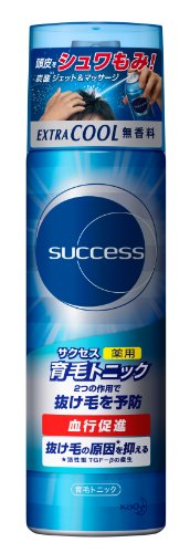 Success medicated grow hair tonic Extractor unscented / 180 g [HTRC2.1]
