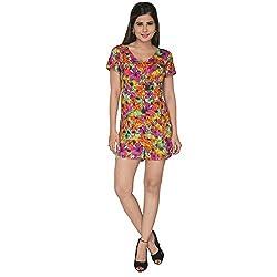 Fashion Wardrobe Floral Burst Short Jumpsuit