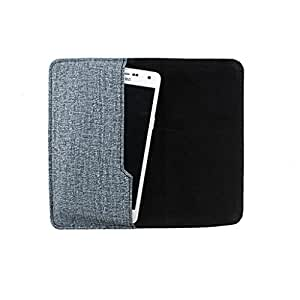 DooDa PU Leather Pouch Case Cover With Card / ID Slots For Lava Iris 400Q