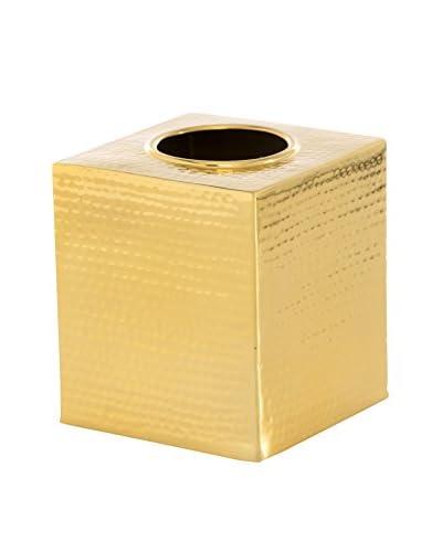 Shiraleah Hammam Tissue Box Cover, Gold
