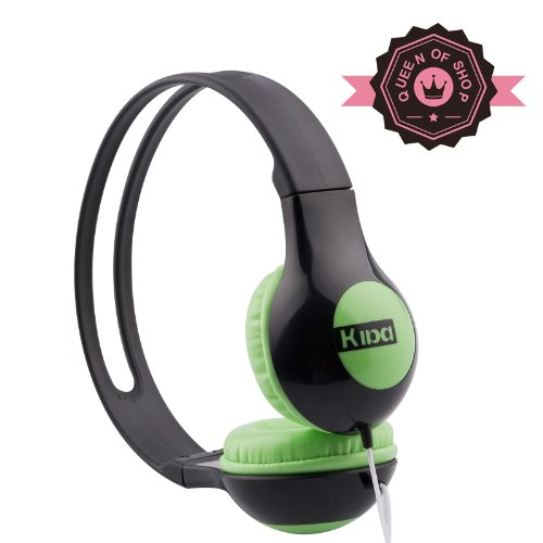 Bread Shape Black + Green 63% Discount Candy Color Smooth Abs Good Gloss Cheaper High Quality Circumaural Hands Free Over-The-Ear Headphones Headset For Pc Mp3 Mp4 Ipod With Microphone /Answer The Calling Gift For Kids