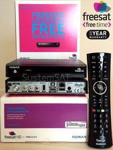 Humax HB-1000S Box Freesat+ avec enregistreur HD Freetime HD