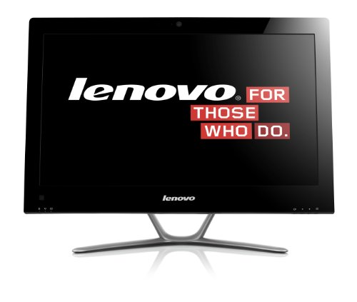 Lenovo IdeaCentre C345 20-Inch All-in-One Desktop (Black/Brushed Aluminum)