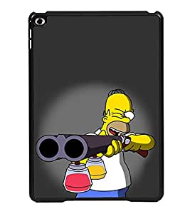 Vizagbeats Man Aiming Color Gun Back Case Cover For Apple Ipad Air Mini 2