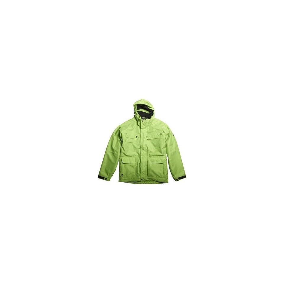 Fox Racing FX2 Jacket   Small/Vivid Green Automotive