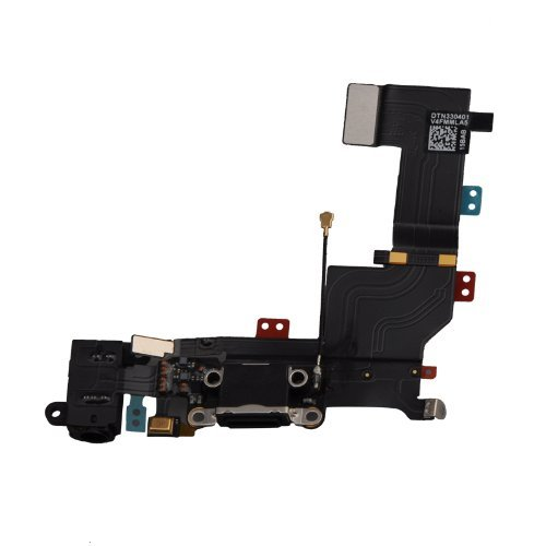 For Iphone 5S Charging Port Dock Headphone Jack Mic Connector Flex Cable