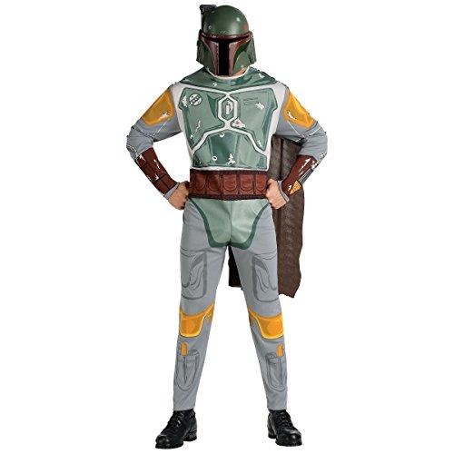 [GSG Boba Fett Costume WarsGalactic Bounty Hunter Halloween Dress] (Xl Pharaoh Adult Costumes)