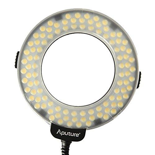 Aputure-Amaran-Halo-AHL-HC100-CRI-95-LED-Macro-Ring-Flash-Light-for-Canon-DSLR-Camera
