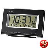 CITIZEN デジタル電波時計 パルデジットエース ブラック色 8RZ133-002