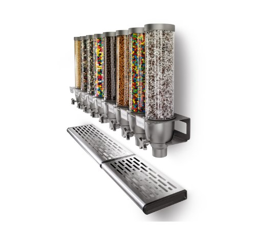 Rosseto Ez527 5 Container Ice Cream Topping Candy Wall