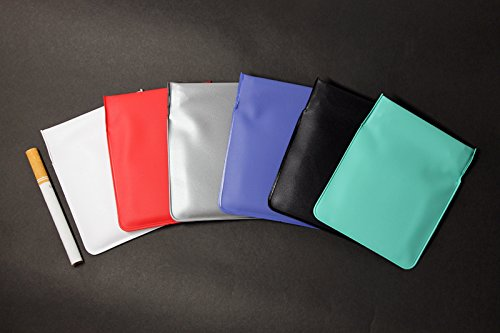 ポケット灰皿 ちっポケレギュラーサイズ白・黒・銀・赤・緑・青6個セット(日本製)