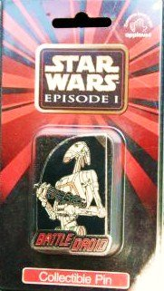 Star Wars Episode 1 Collectible Battle Droid Pin