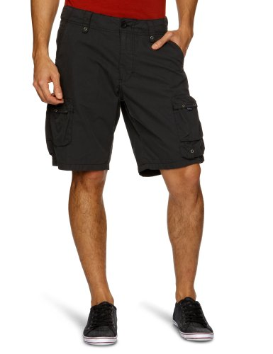 Rip Curl Micro Canvas 20 Inche Men's Cargo Shorts Black Medium