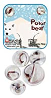 Polar Bear Marble Set