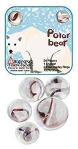 Polar Bear Marble Set