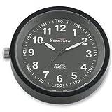 Formotion Classic Series Clocks - Black/Black
