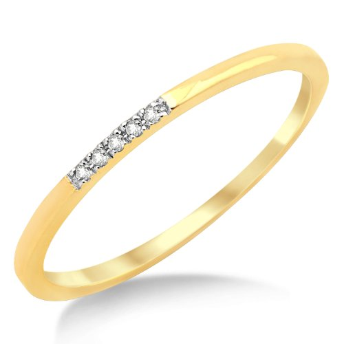 Eternity Ring, 9ct Yellow Gold, Diamond Eternity Ring, Size L, by Miore, MP9012RM