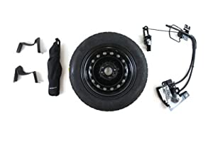 Genuine Fiat Accessories 82212995 Spare Tire Kit for Fiat 500/500C